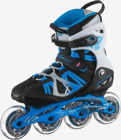 K2 Fitness Skates 'Helena 90' in blau / hellgrau / schwarz, Produktansicht