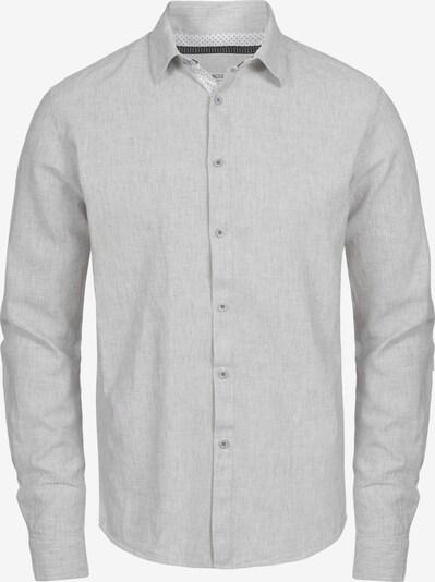 INDICODE JEANS Leinenhemd 'Cundy' in grau, Produktansicht