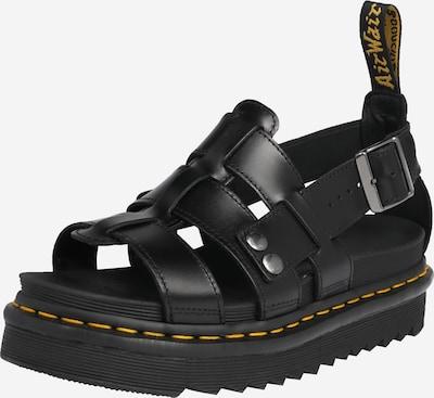 Sandale 'Terry' Dr. Martens pe negru, Vizualizare produs