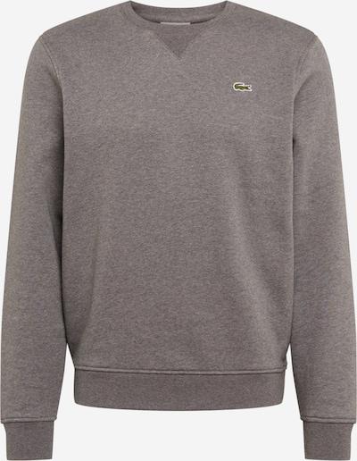 LACOSTE Sweatshirt in basaltgrau: Frontalansicht