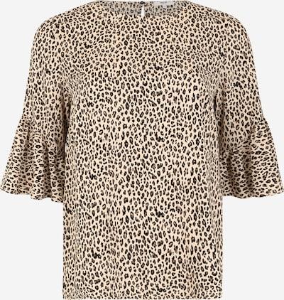 ABOUT YOU Curvy Bluse 'Maren' in beige / braun / schwarz, Produktansicht