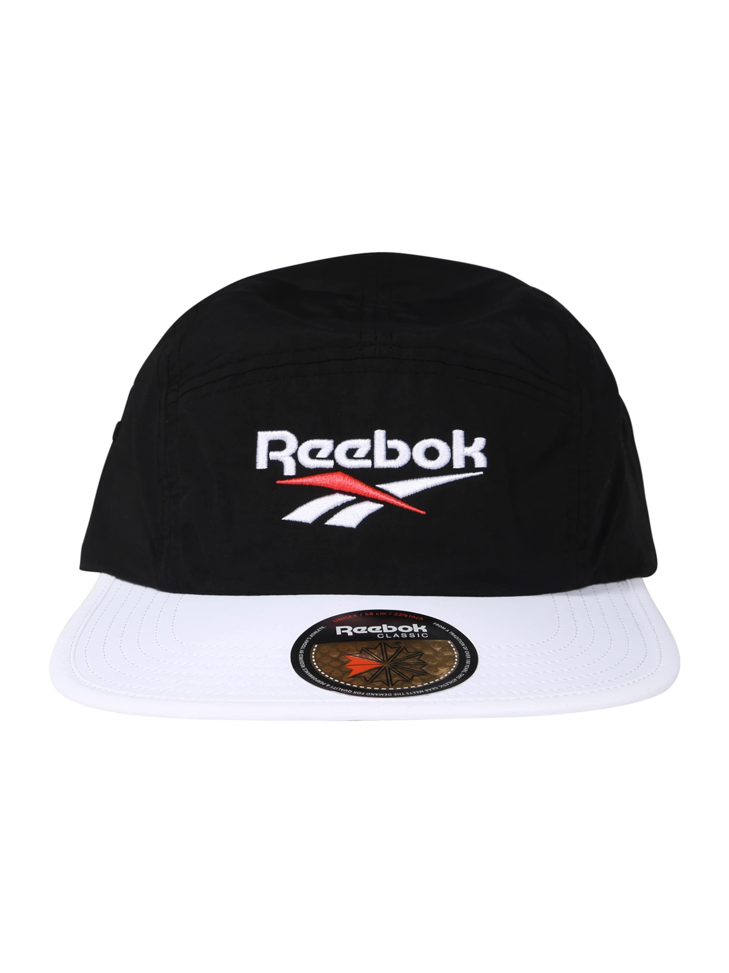Running' Reebok 'retro In Weiß Cap Classic RotSchwarz eBCxod