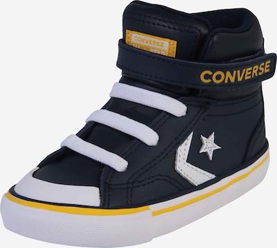 CONVERSE Sneaker  'PRO BLAZE STRAP VARSITY' in dunkelblau / weiß: Frontalansicht