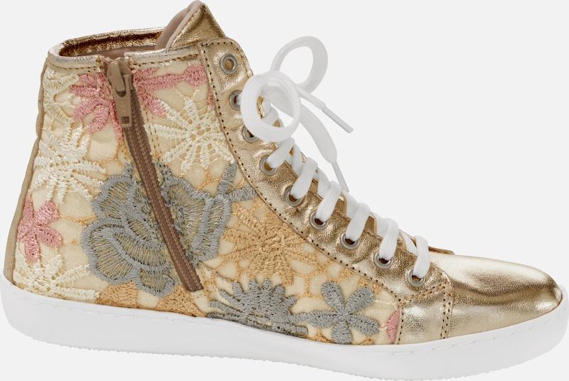 heine Schnürstiefeletten mit Verschleißfeste Spitzeneinsätzen Verschleißfeste mit billige Schuhe 997365
