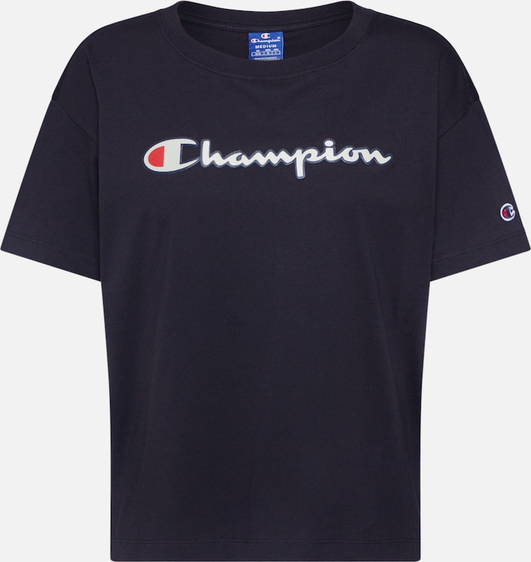 Champion Authentic Athletic Apparel Shirt in schwarz, Produktansicht