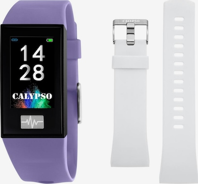 CALYPSO WATCHES Smartwatch in lila / schwarz / weiß, Produktansicht