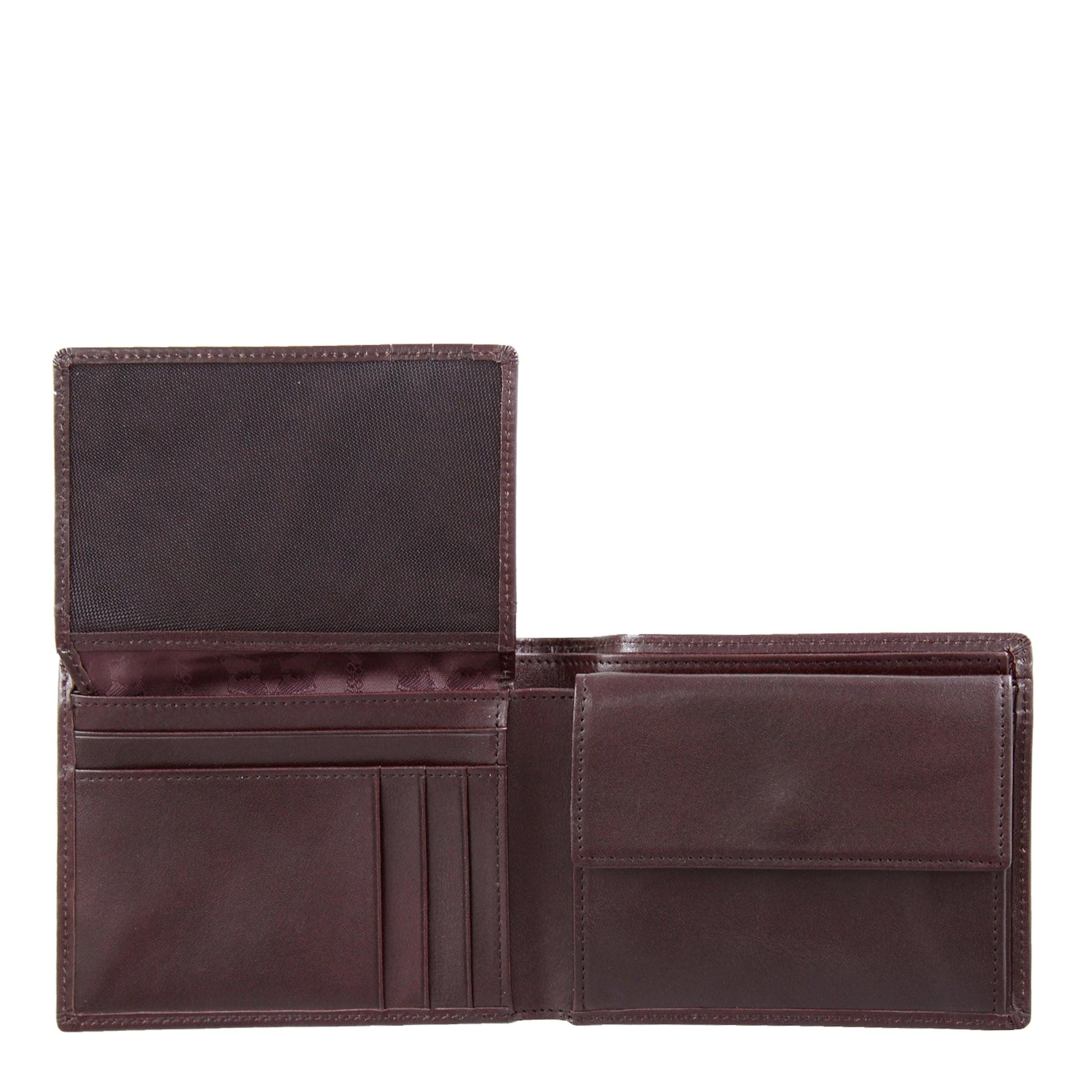 'gaucho' Geldbörse Rot Braun Büffel In 8PNXwOn0k