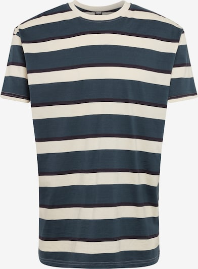 Urban Classics Shirt in de kleur Sand / Donkergroen, Productweergave