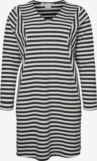 Junarose Kleid 'RISE' in schwarz / weiß, Produktansicht