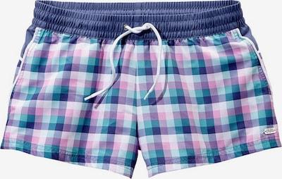 BUFFALO Shorts in marine / türkis / lila / weiß, Produktansicht