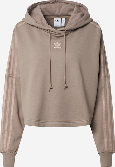 ADIDAS ORIGINALS Sweat-shirt en chocolat, Vue avec produit