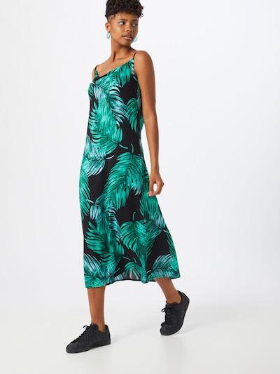 Trendyol Robe en vert / noir: Vue de face