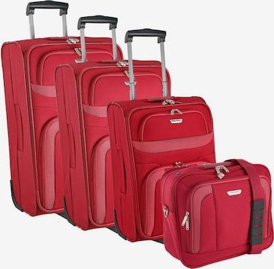 TRAVELITE Ensemble de bagages 'Orlando' en rouge, Vue avec produit