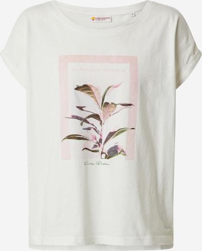 Funky Buddha Shirt in weiß, Produktansicht