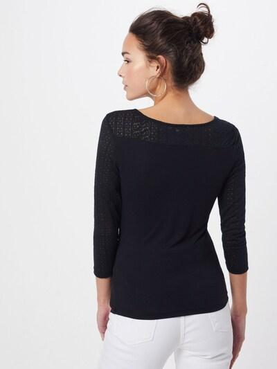 ABOUT YOU Shirt 'Nina' in de kleur Zwart: Achteraanzicht