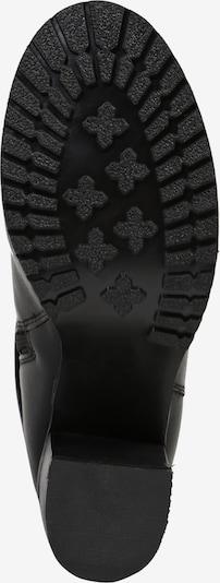 ABOUT YOU Škornji 'Nia' | črna barva: Pogled od spodaj