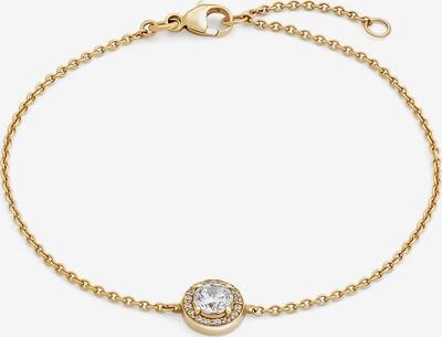 FAVS Armband in gold / weiß, Produktansicht