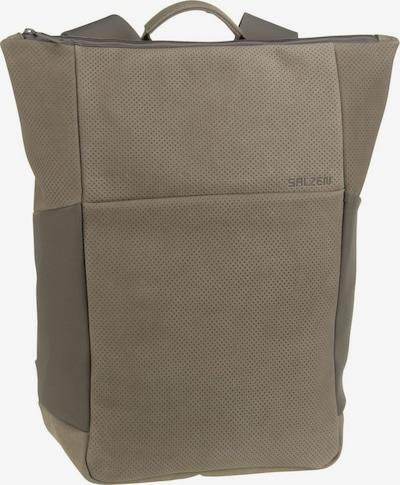 SALZEN Rucksack 'Plain' in grau, Produktansicht