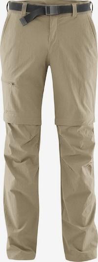 Maier Sports Hose 'Tajo 2' in beige, Produktansicht