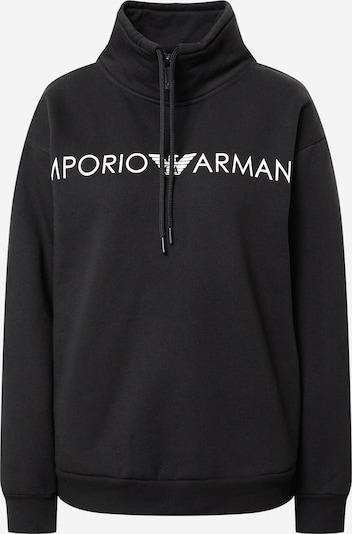 Emporio Armani Sweatshirt in de kleur Zwart / Wit, Productweergave
