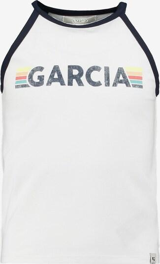 GARCIA Top in kobaltblau / hellblau / gelb / rosa / weiß, Produktansicht