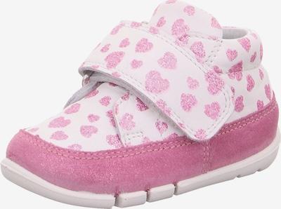SUPERFIT Lauflernschuh 'Flexy' in rosa / weiß, Produktansicht