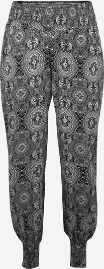 Urban Classics Curvy Spodnie w kolorze czarny / białym, Podgląd produktu