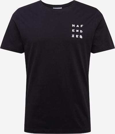 Hafendieb Shirt 'R E F L E K T I O N' in de kleur Zwart, Productweergave