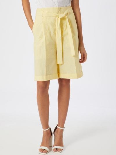 BOSS Hose 'Sarlie' in gelb / weiß, Modelansicht
