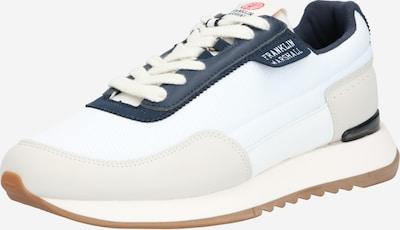 FRANKLIN & MARSHALL Sneakers laag 'DELTA CLUB' in de kleur Beige / Donkerblauw / Wit, Productweergave