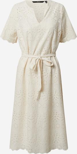 Vero Moda Petite Robe 'VMKAROLINE LS CALF DRESS WVN PETITE' en blanc naturel, Vue avec produit