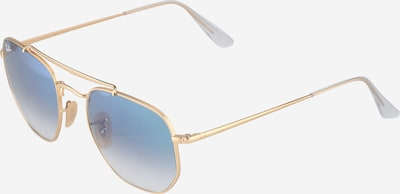 Ray-Ban Sunglasses 'Marshal' in blue / gold, Item view