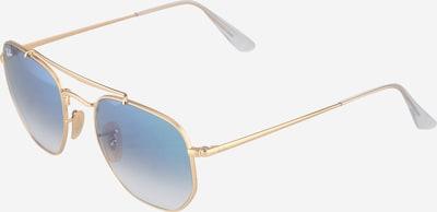 Ray-Ban Sonnenbrille 'Marshal' in blau / gold, Produktansicht