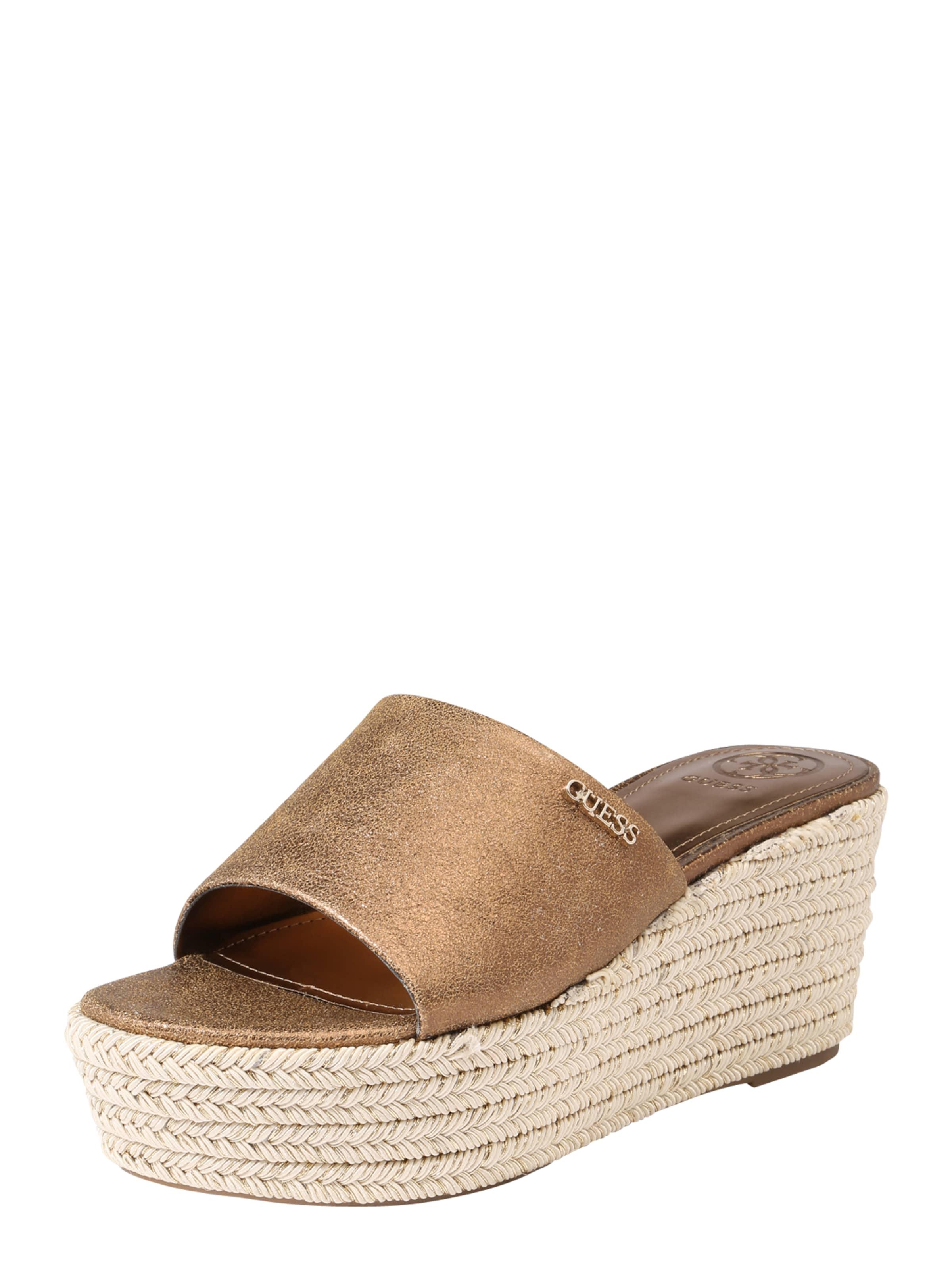 Haltbare Mode billige Schuhe GUESS | Plateau-Slides 'LENORE2' Schuhe Gut getragene Schuhe