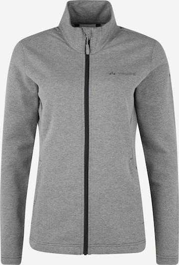 VAUDE Sporta jaka ar kapuci pieejami pelēks / melns, Preces skats