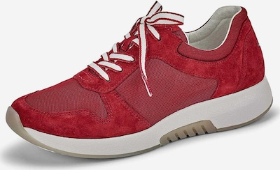 GABOR Schnürschuhe in rot, Produktansicht