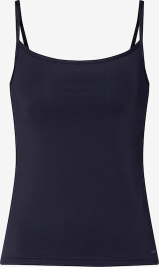 Apatiniai marškinėliai iš Skiny , spalva - juoda: Vaizdas iš priekio
