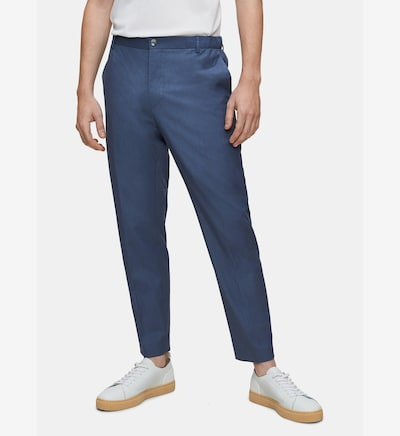 Calvin Klein Stretch Trousers in blau, Modelansicht