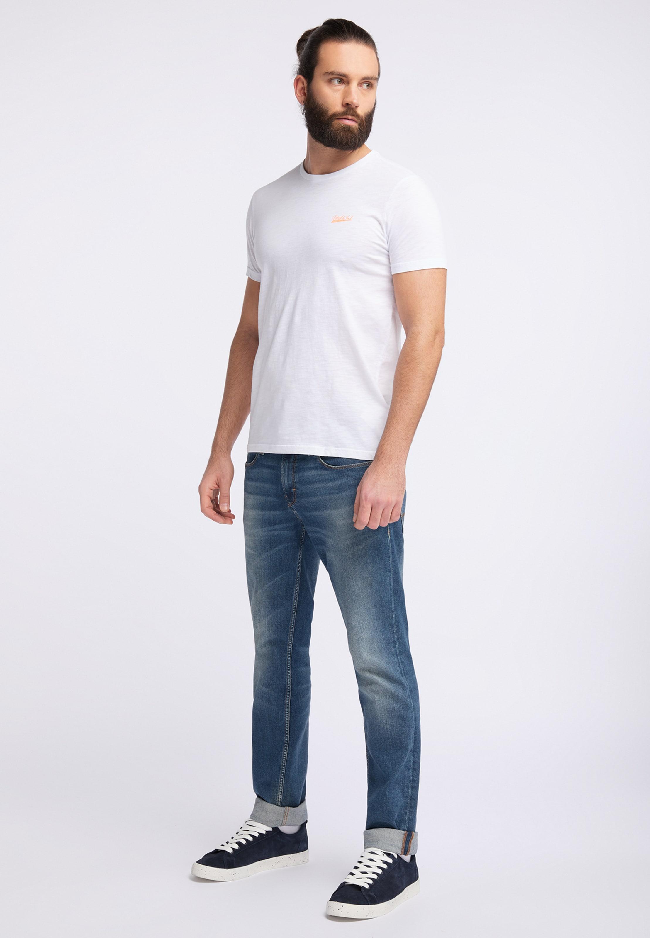 shirt In Weiß Industries T Petrol OkTPiZuX