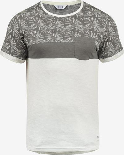 !Solid Rundhalsshirt 'Florian' in grau, Produktansicht