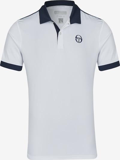 Sergio Tacchini Poloshirt 'Club Tech' in enzian / weiß, Produktansicht
