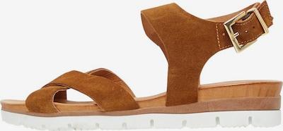 Bianco Sandale in karamell, Produktansicht