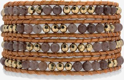 Rafaela Donata Armband in braun / bronze, Produktansicht