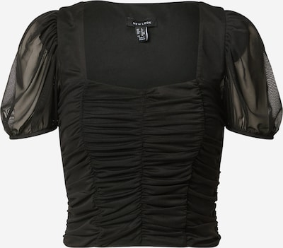 NEW LOOK Shirt 'RUCHED' in schwarz, Produktansicht