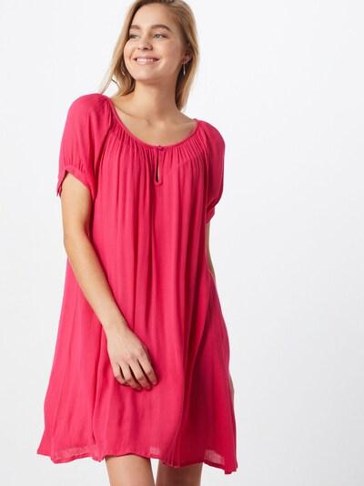 Kaffe Robe oversize en rose, Vue avec modèle