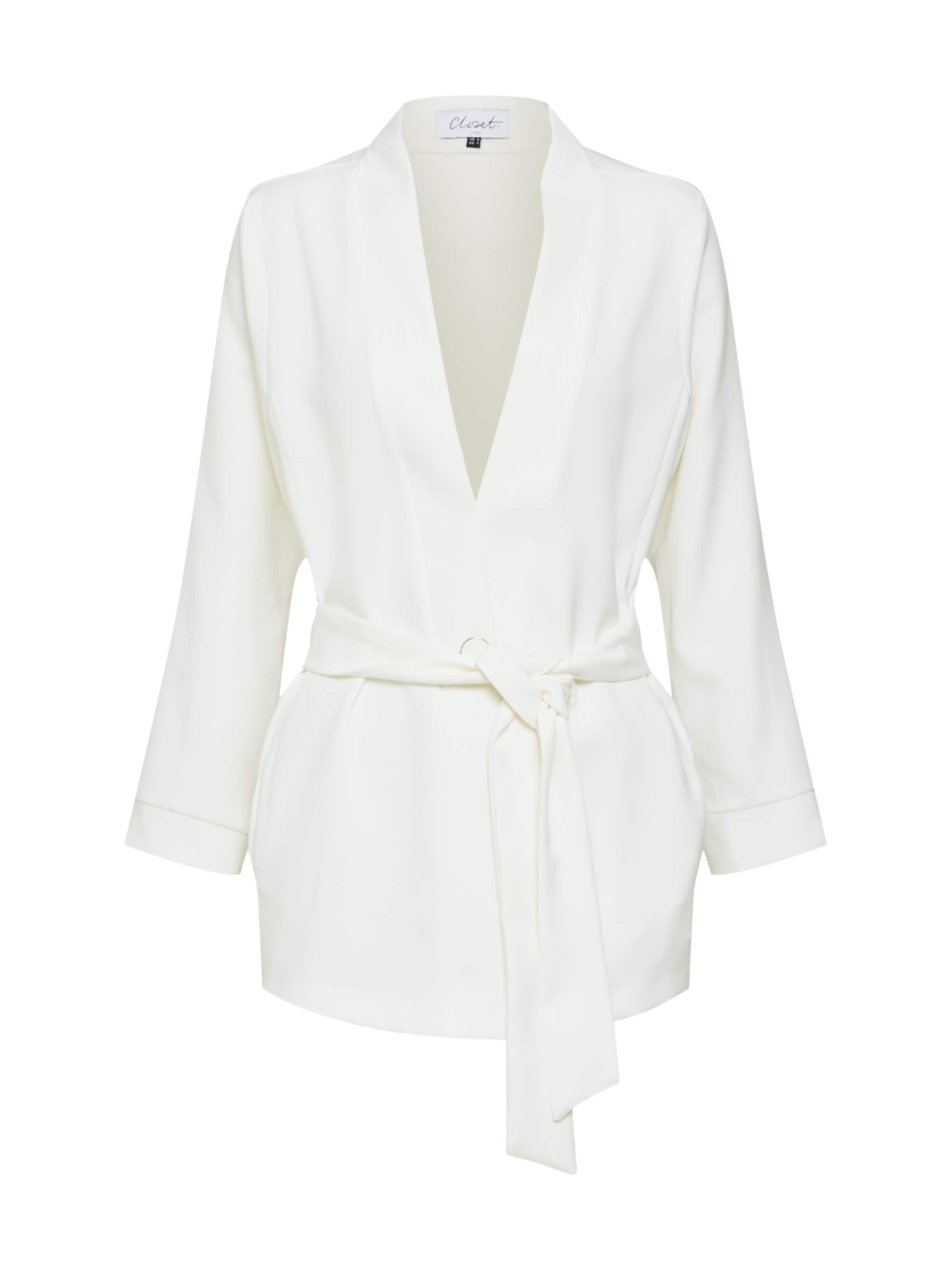Cassé London Closet Blazer En Blanc nwN8OP0kXZ