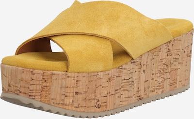 VERBENAS Pantolette 'SERRAJE' in gelb, Produktansicht