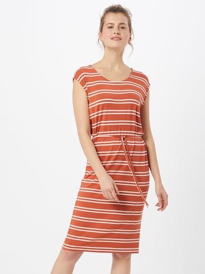 Blend She Letné šaty 'CELESTE' - lososová / biela, Model/-ka
