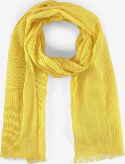 TOM TAILOR Schal in gelb, Produktansicht