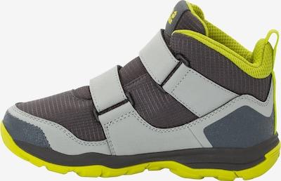 JACK WOLFSKIN Schuhe 'MTN Attack 3' in gelb / hellgrau / dunkelgrau, Produktansicht